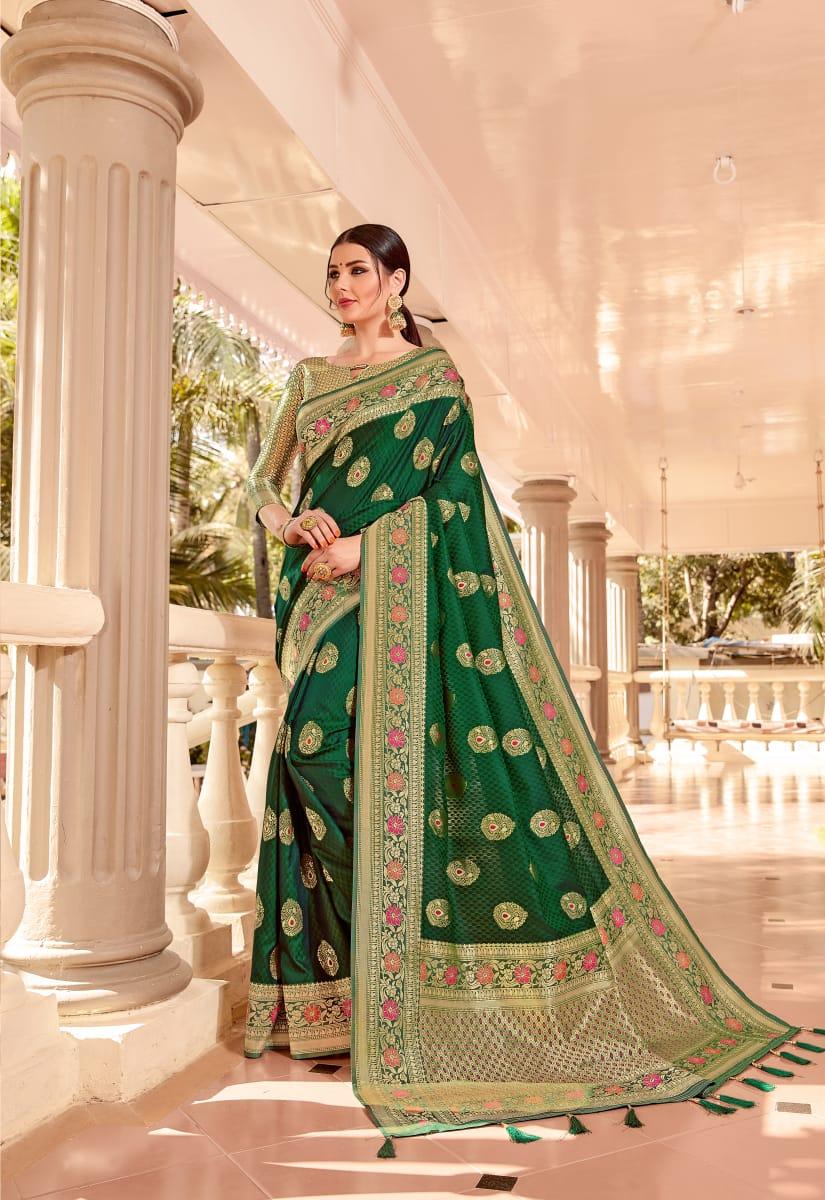 Shangrila Kala Nidhi Silk Vol 2 Designer Meenakari Silk Sarees Wholesale