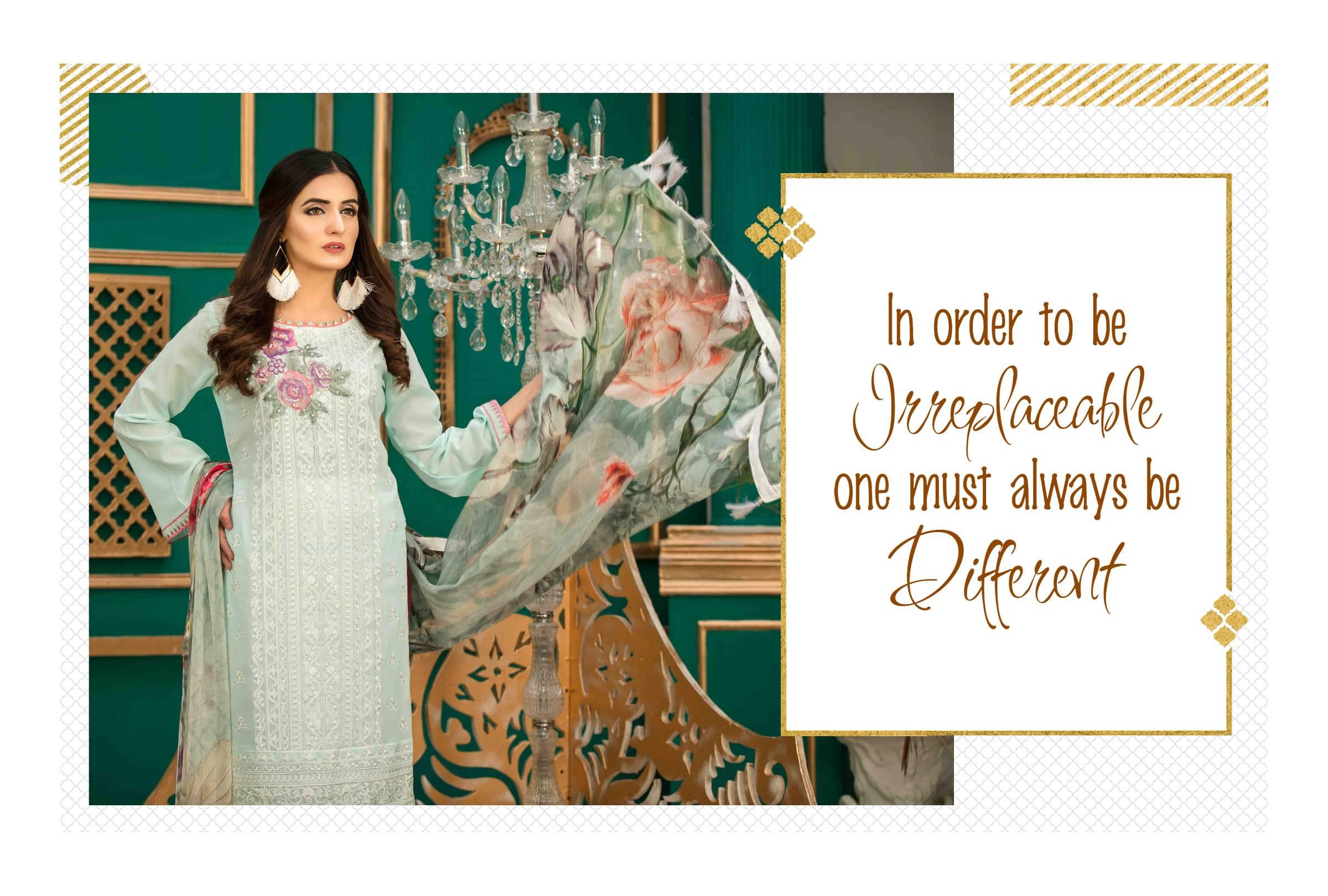 Tawakkal Aureline Fancy Swiss Original Pakistani Semi Stitched Collection In Best Wholesale Rate