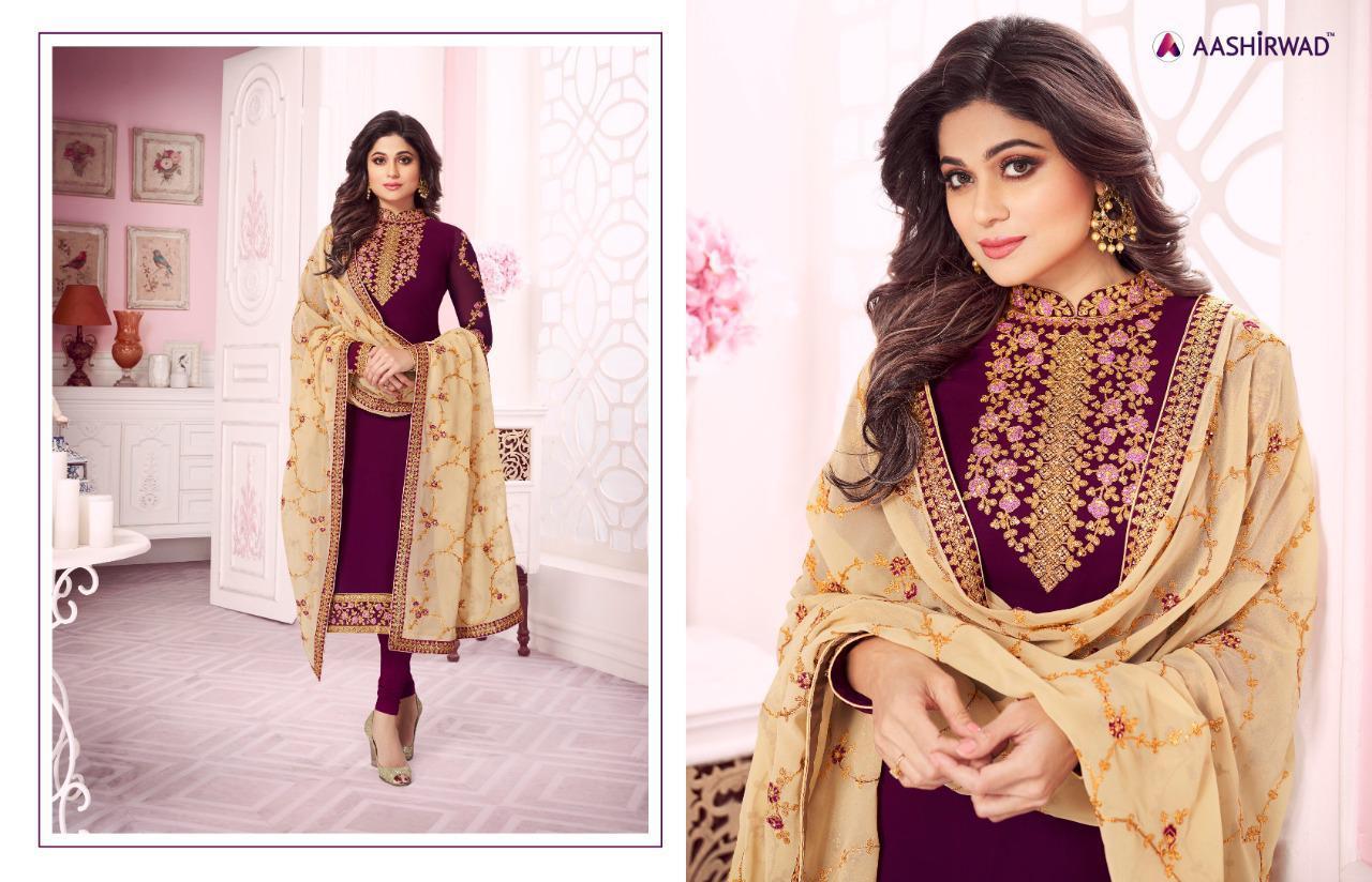 Aashirwad Classic Designer Wedding Wear & Partywear Suits Wholesale