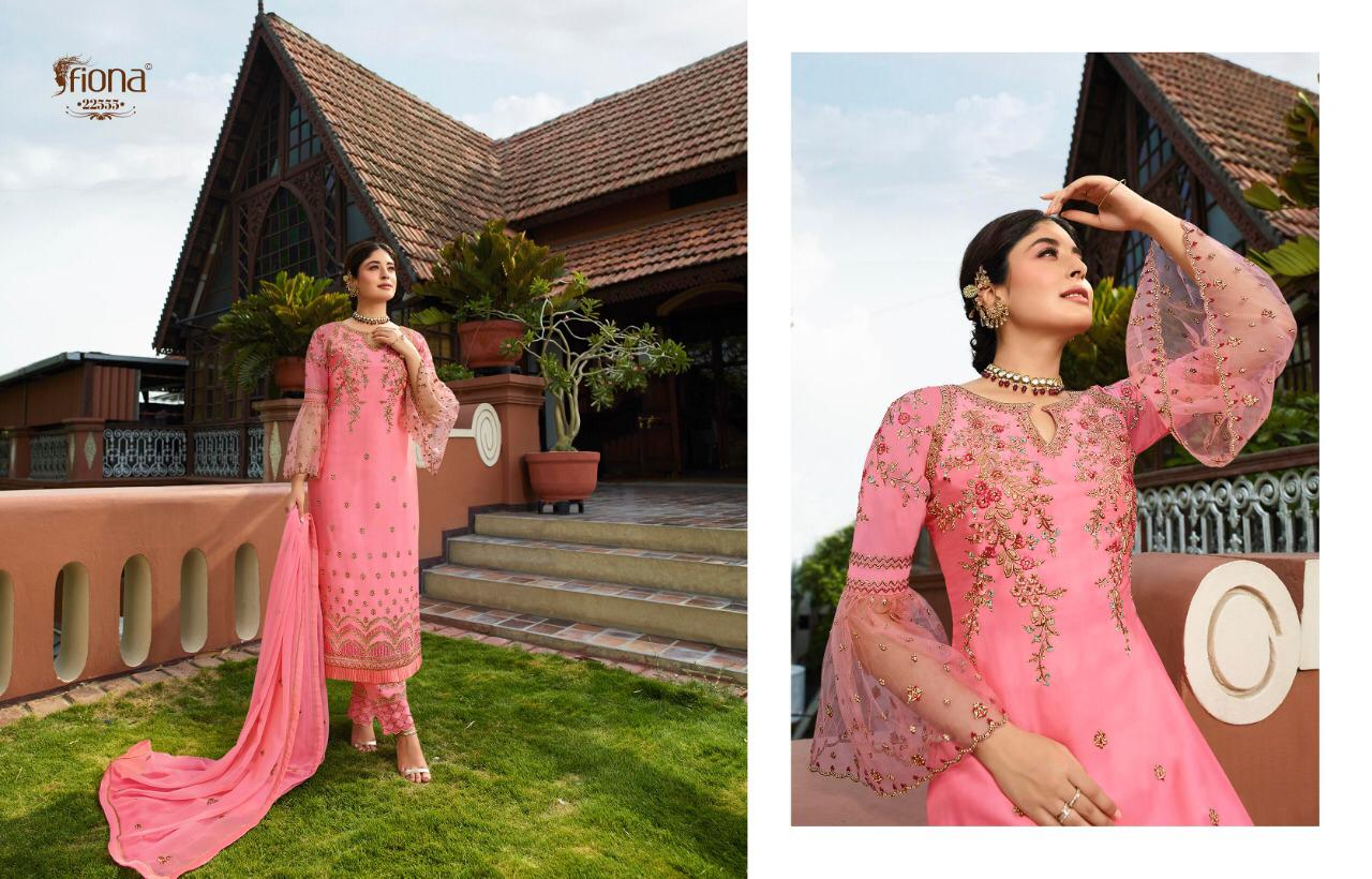 Fiona Kritika Navya Designer Party Wear Suits In Best Wholesale Rate