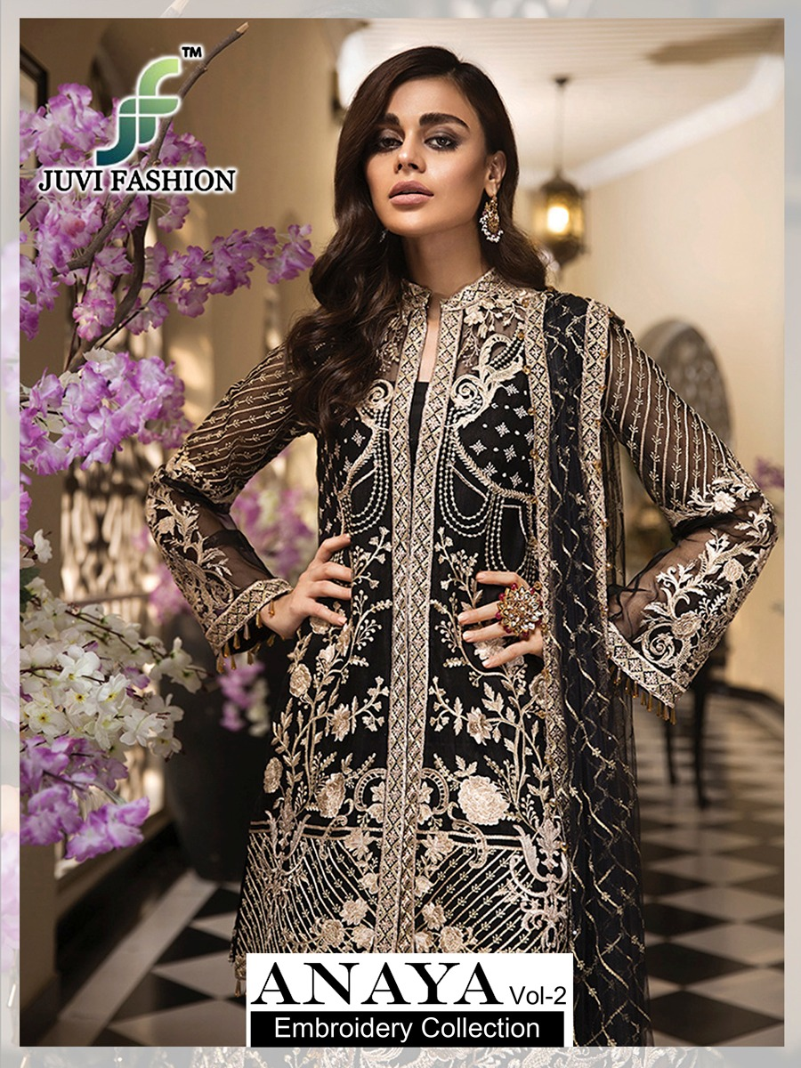 Juvi Fashion Anaya Vol 2 Designer Partywaer Suits In Wholesale Rate