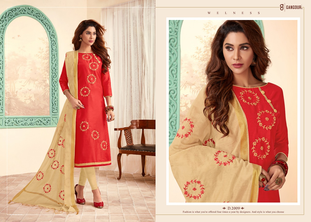 One Choice Blossom Vol 2 Designer Cotton Suits In Wholesale Rate