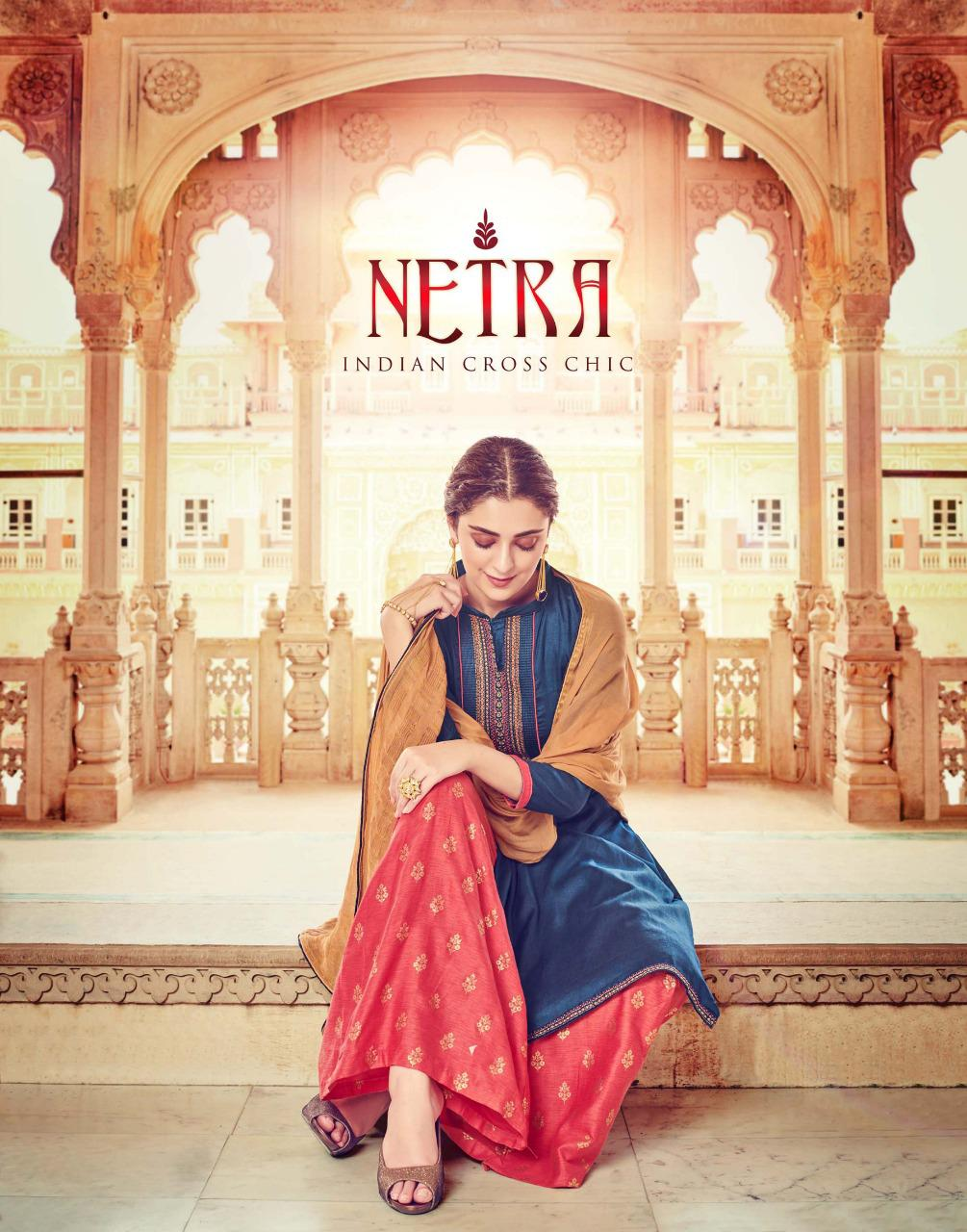 Sargam Prints Netra Designer Embroidery Work Suits In Wholesale Rate