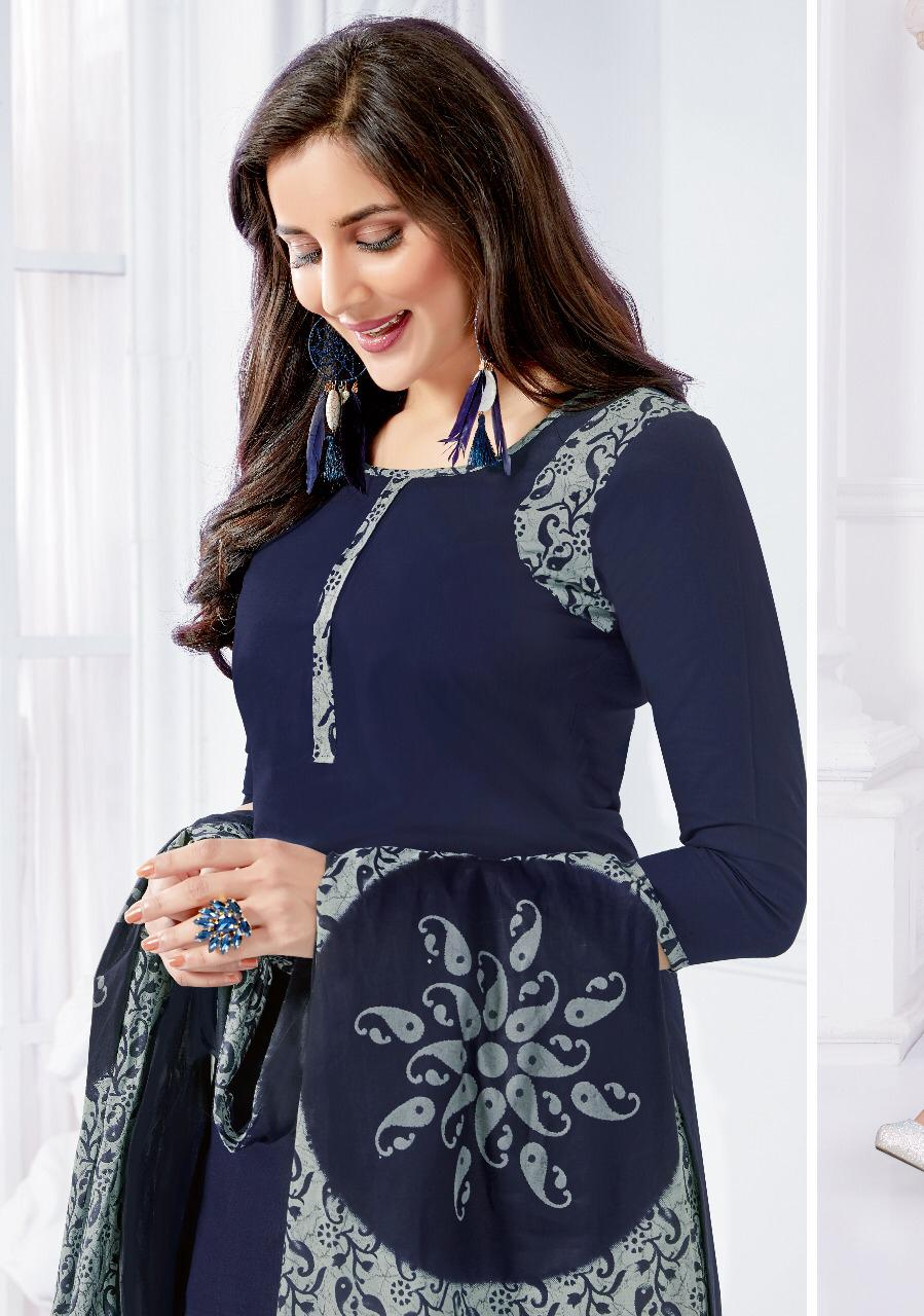 Balar Zaara Vol 4 Designer Pure Cotton Suits In Wholesale Rate
