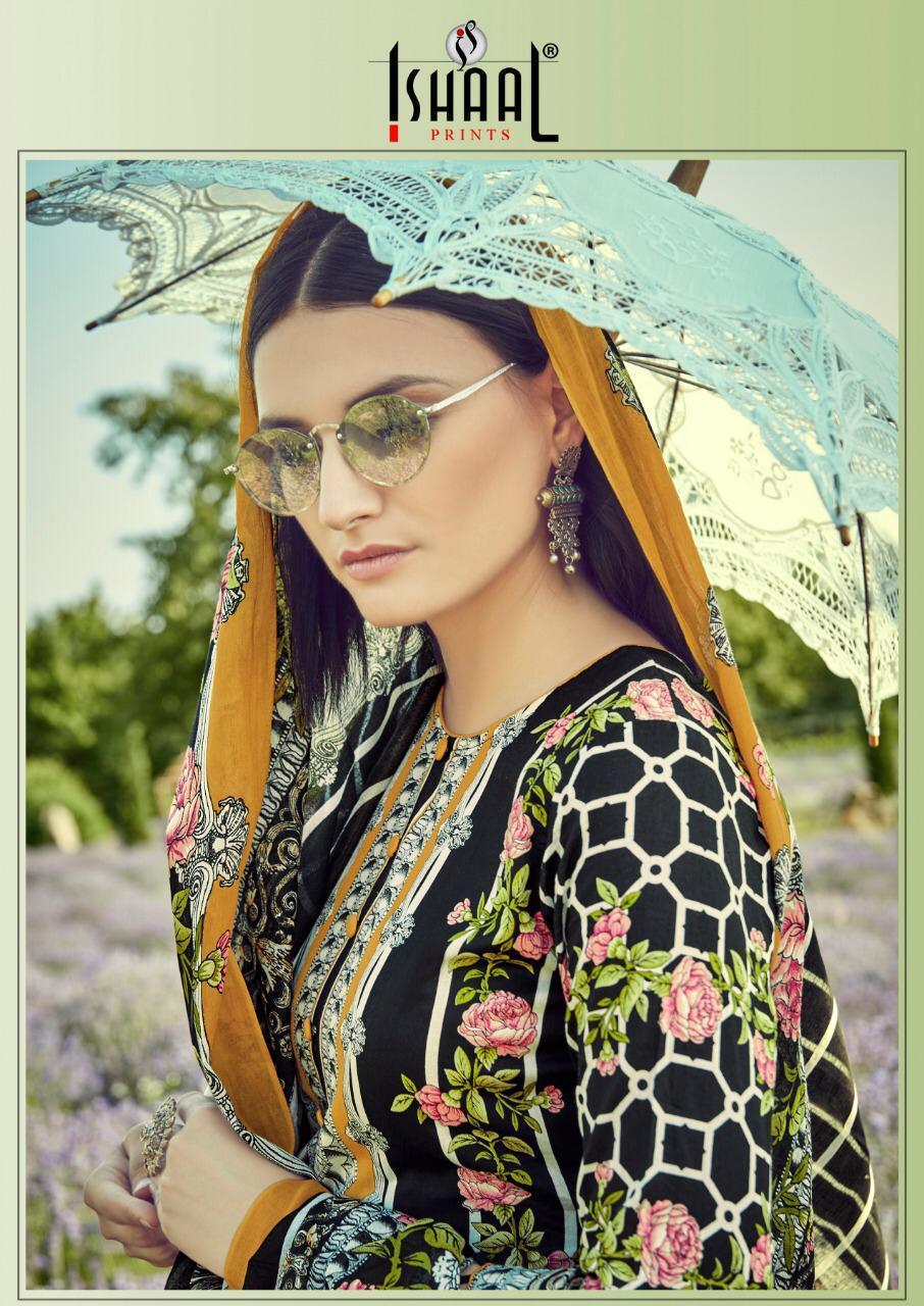 Ishaal Prints Gulmohar Vol 9 Designer Pure Lawn Collection Wholesale