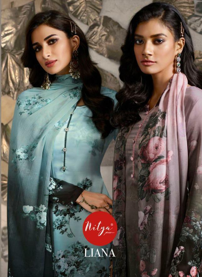 Lt Nitya Liana Designer Printed Suits In Wholesale Rate
