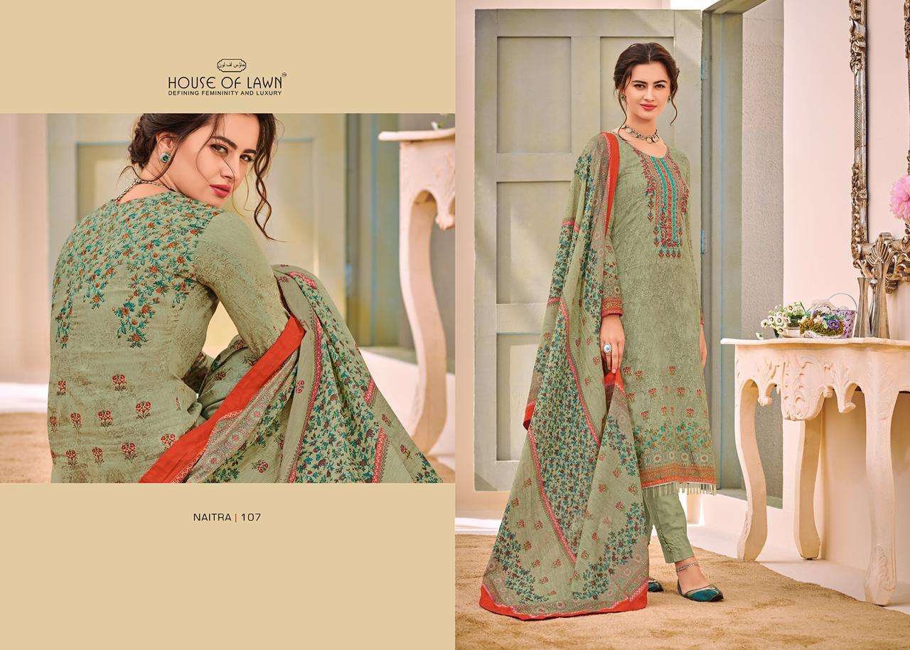 House Of Lawn™ Naitra Designer Embroided Suit Wholesale