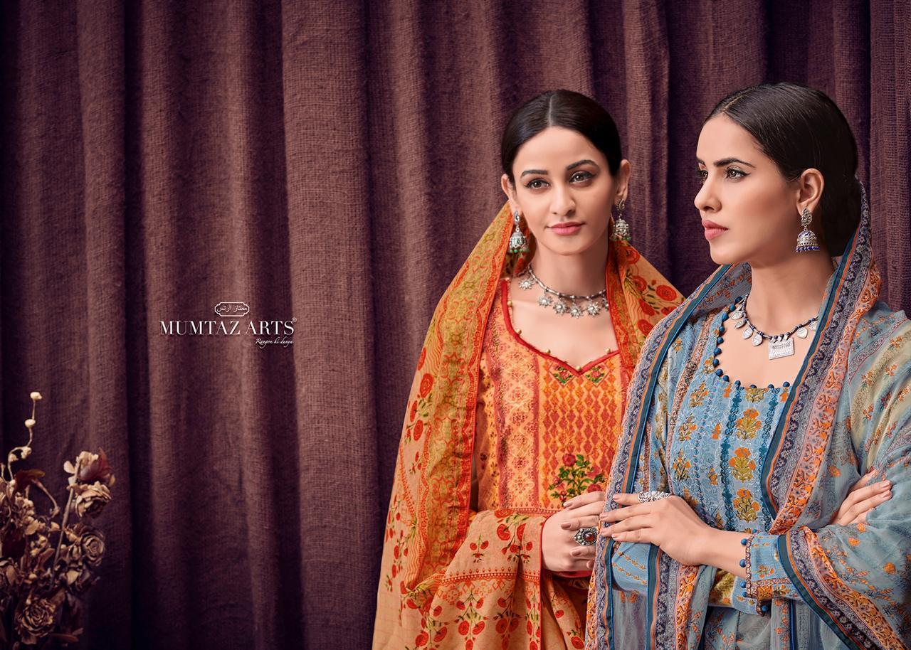 Mumtaz Arts Bunaai Chain Stitched Suits Wholesale Lot