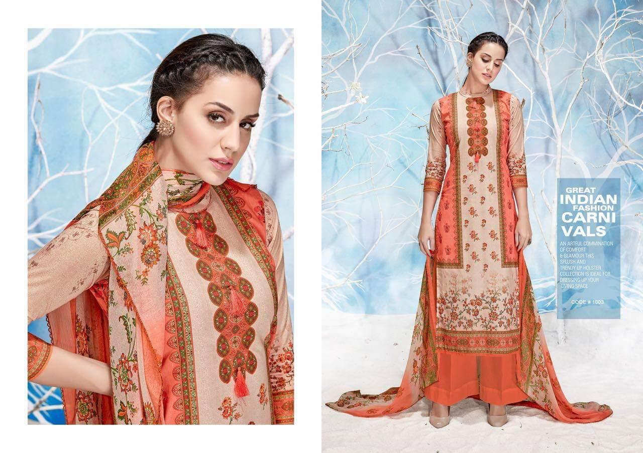 Karachi Print Roman Beauty Pure Lawn With Fancy Suits Wholsa