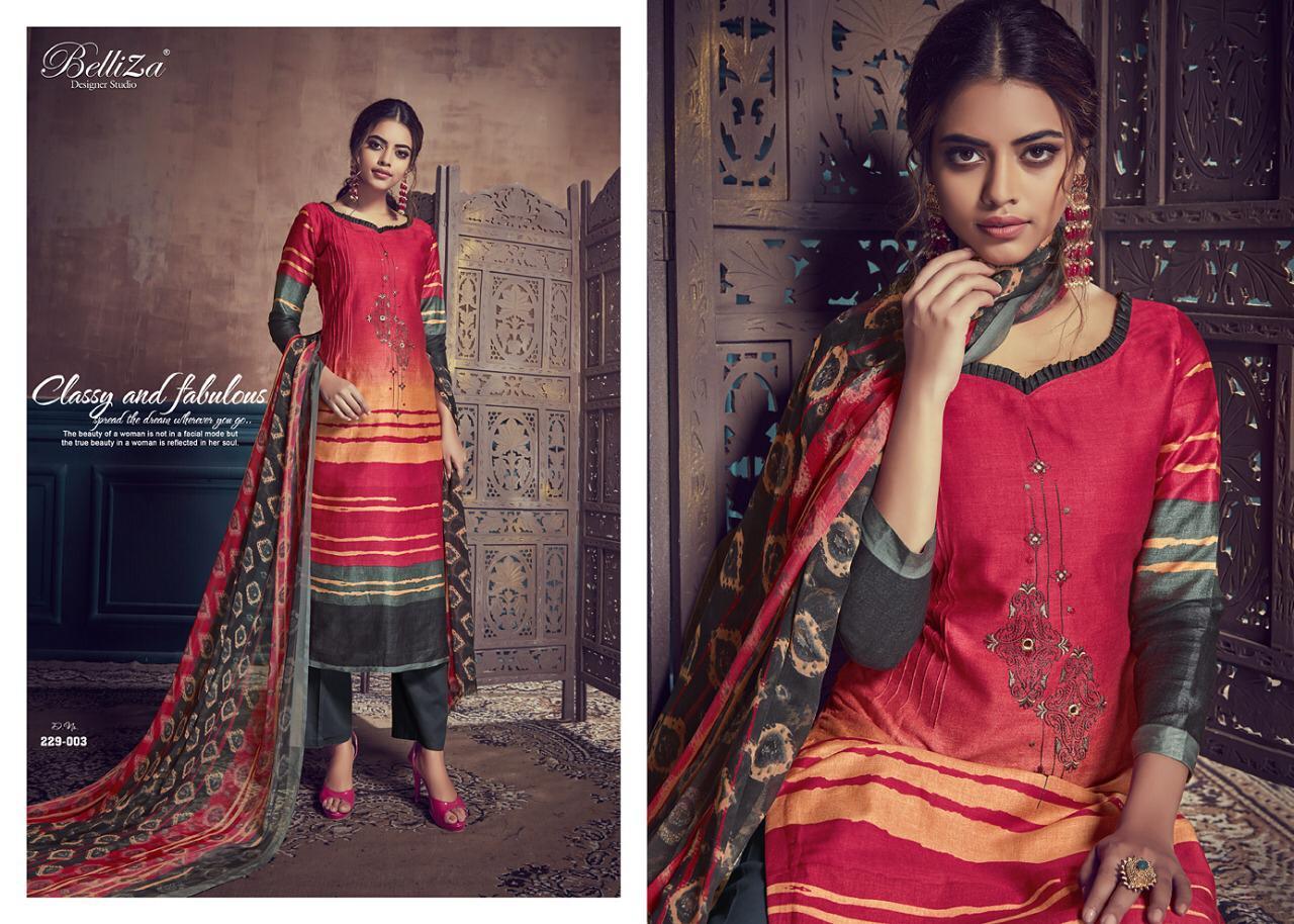 Belliza Desinger Studio Gulmohar  Fancy Suits Wholsale