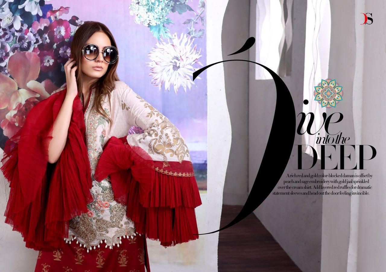 Deepsy Muzlin Premium Designer Pakistani Suits Wholesale