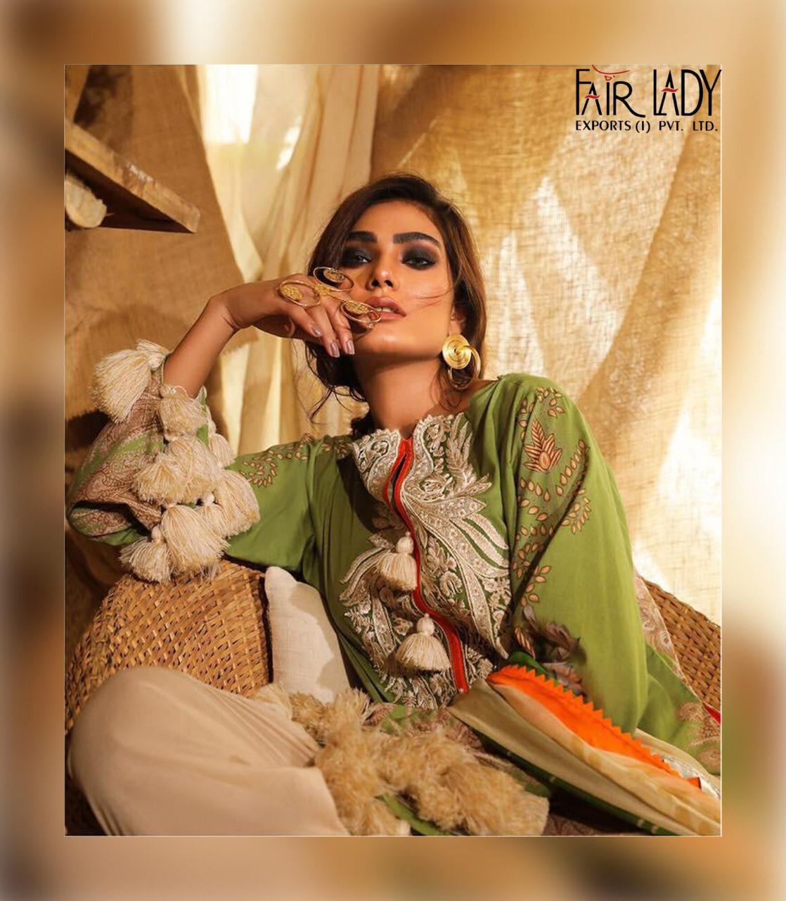 Mumtaz Arts Fair Lady Mahay Nx Designer Heavy Embroidered With Pakistani Style Suits Wholesale