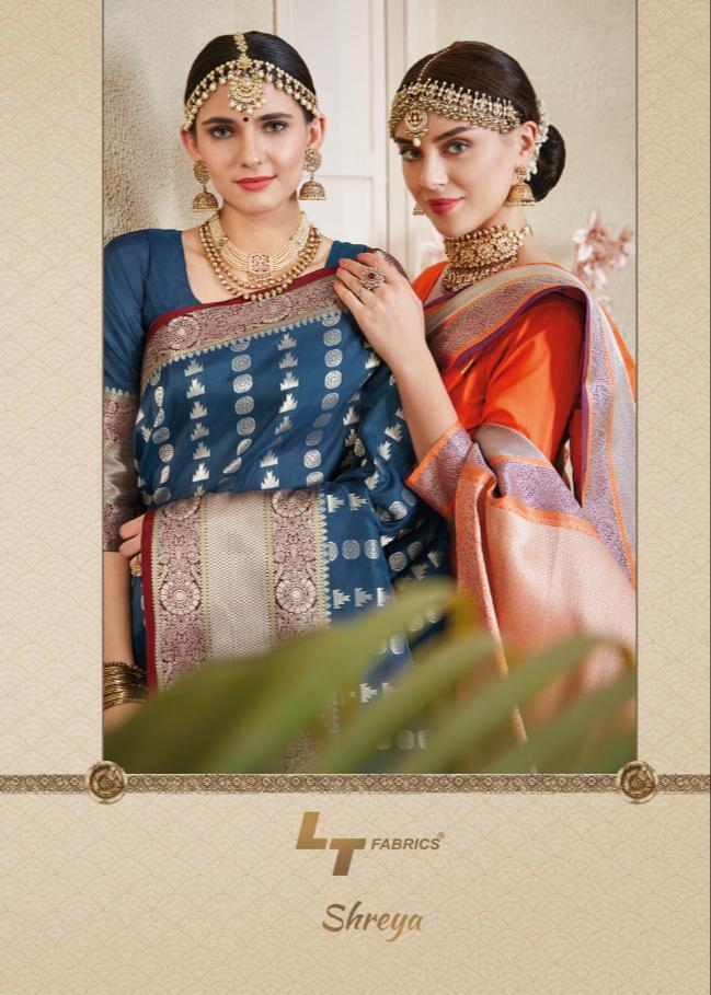 Lt Shreya Designer Wedding Wear Sarees Wholesale