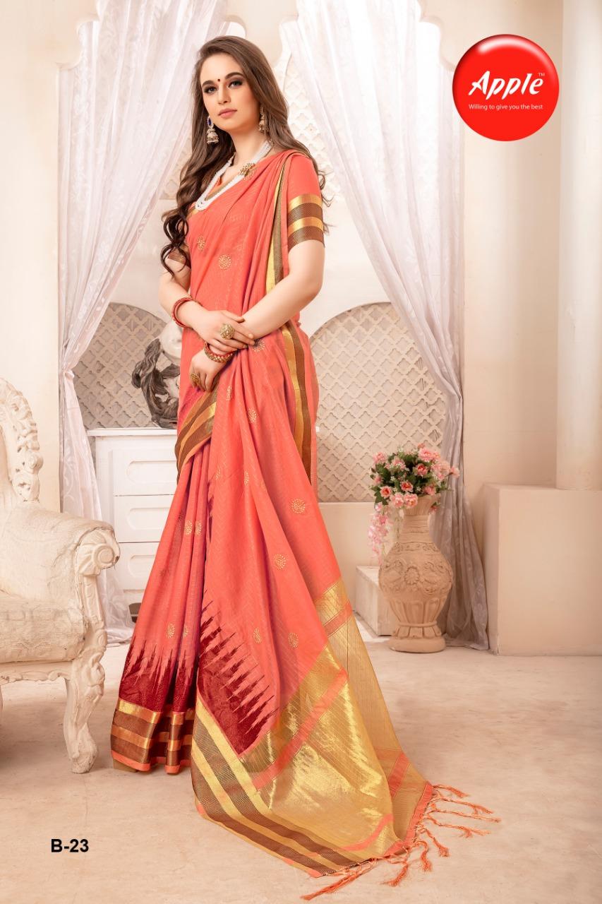 Apple Saree Inorbit Designer Wedding Wear Sarees Wholesale