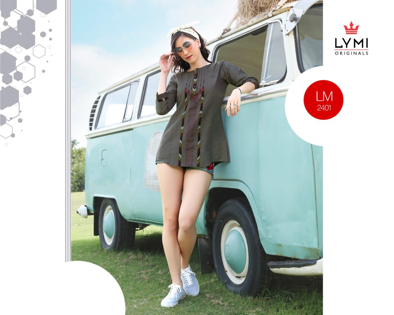 Kessi Motion Vol 2 Designer Cotton Flex Embroidered Kurties Wholesale