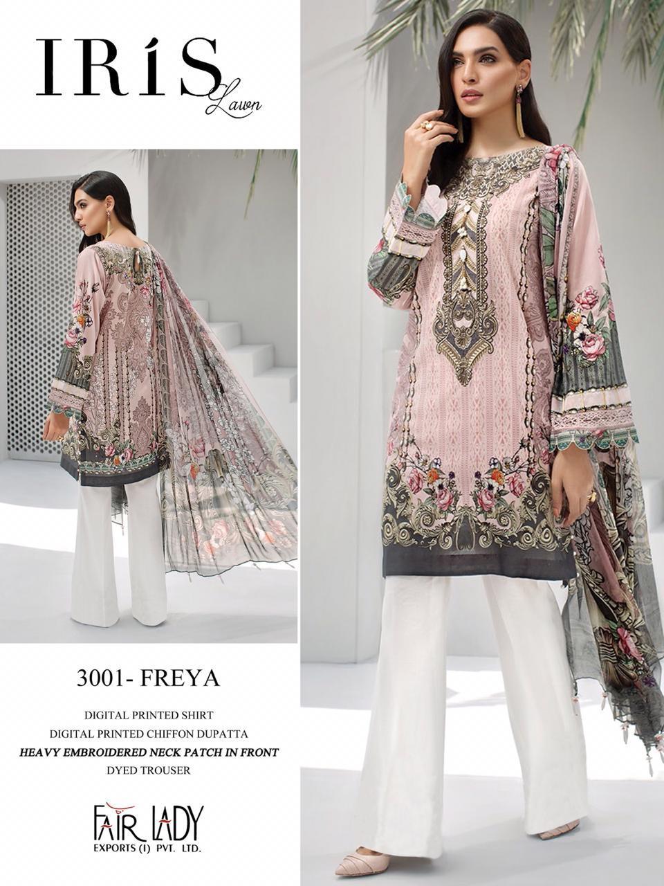 Mumtaz Arts Fair Lady Iris Designer Jam Satin Printed Suits Wholesale