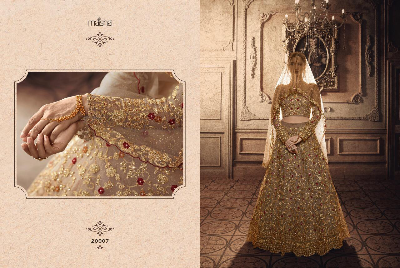 Maisha Vivaana Designer Festival Wear & Wedding Wear Lehenga In Wholesale Rate