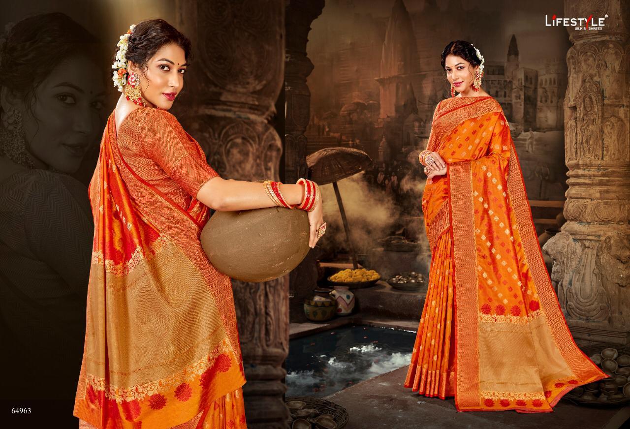 Lifestyle Avantika Vol 3 Designer Wedding Wear Saree In Wholesale Rate