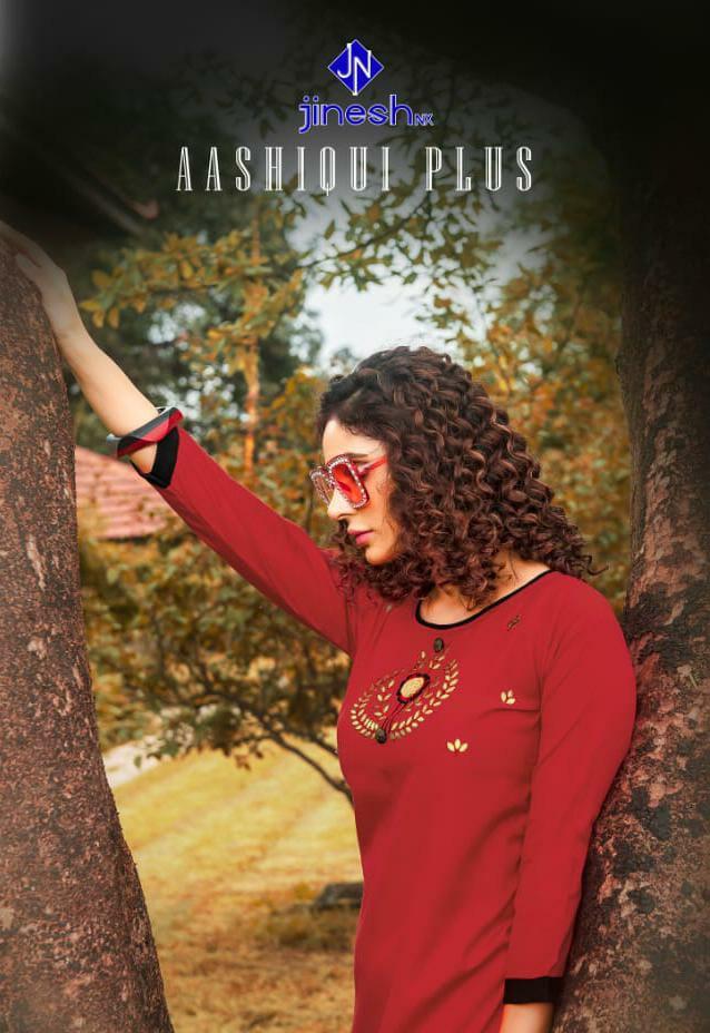 Jinesh Nx Aashiqui Plus Vol 1 Designer Daily Wear & Office Wear Kurtis Wholesale