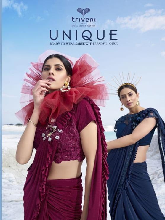 Designer Heavy Work Party Wear Fancy Fabric Sarees