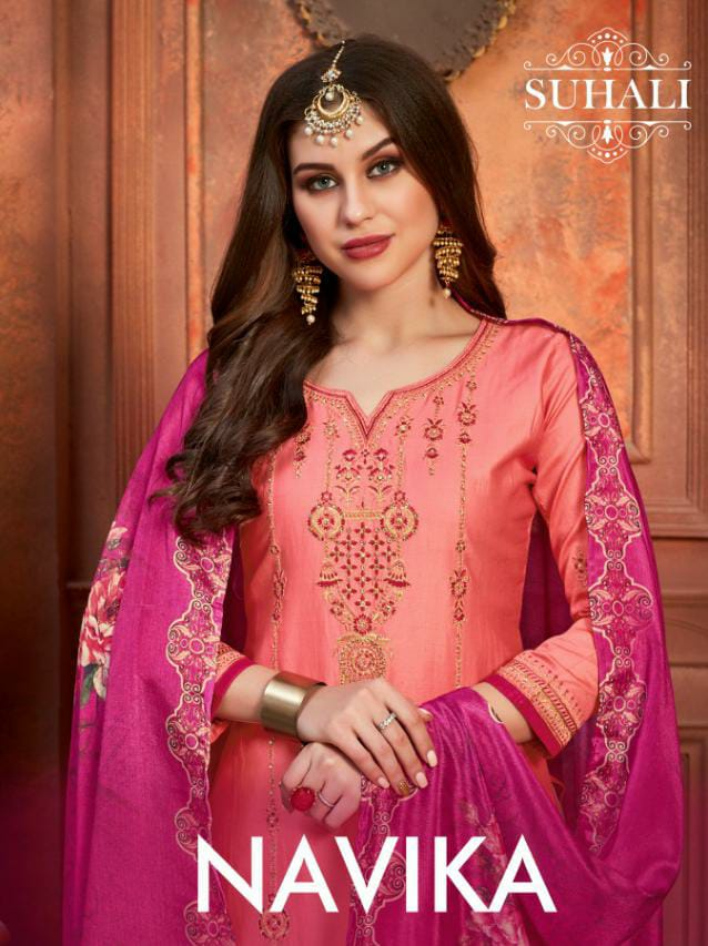 Heavy Designer  Diamond Work Embroidery Party Wear Suits