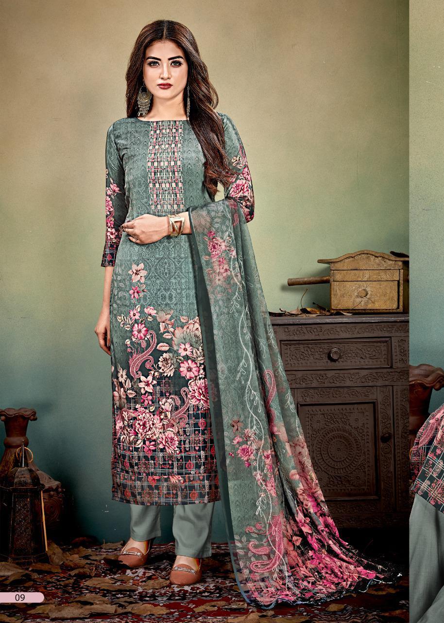 Rani Presenta Simran Designer Digital Print With Zardosi Handwork Wholesale Rate