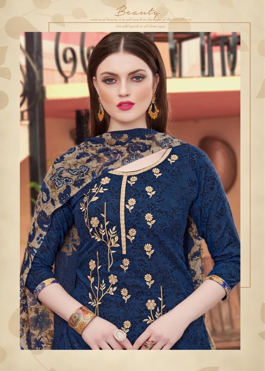 Kay Vee Patiyala Junction Designer Party Wear Suits Wholesale