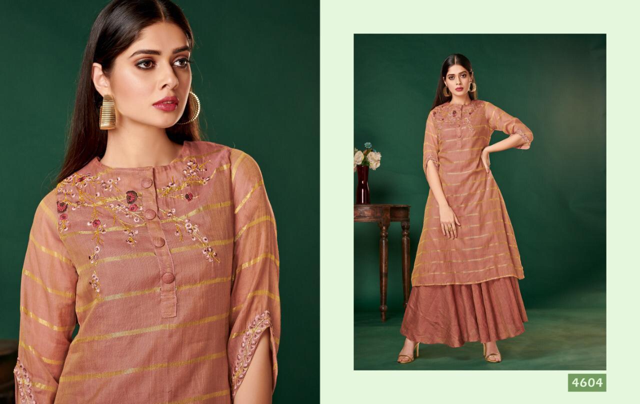 Nitara Firdaus Designer Fancy Fabric Party Wear Kurti Wholesale