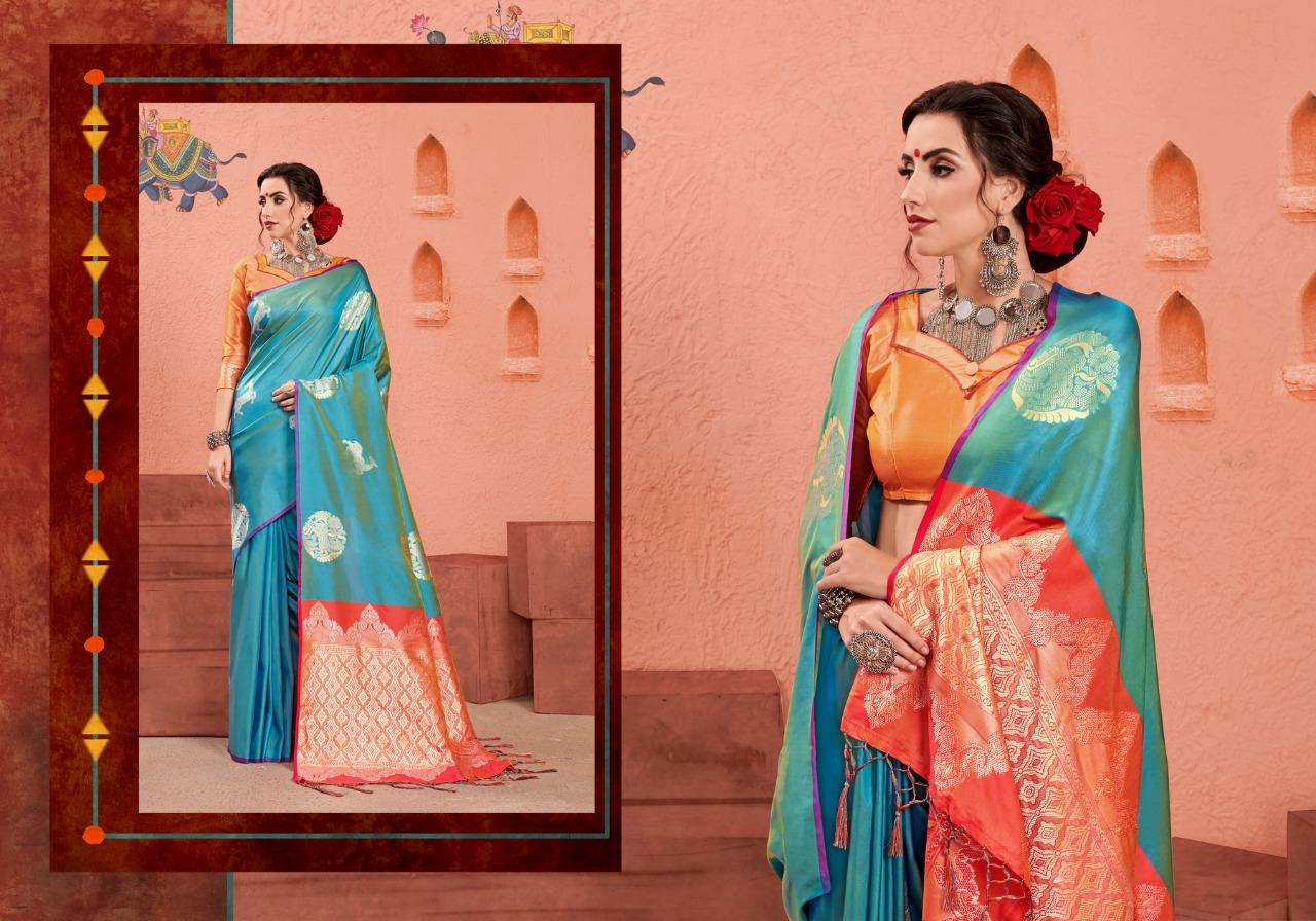 Ynf Roopkatha Vol 4 Designer Kanjivaram Art Silk Wedding Wear Sarees In Best Wholesale Rate
