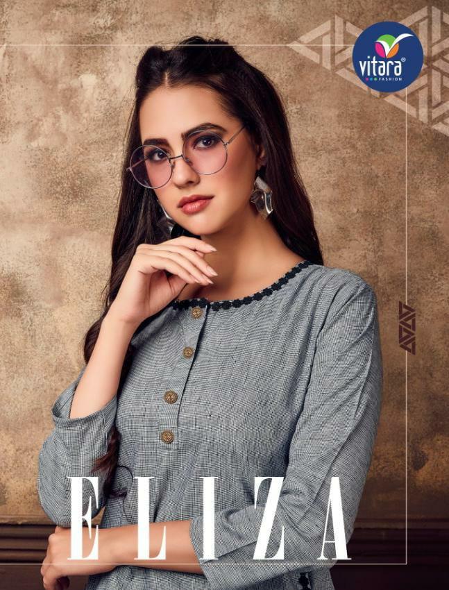 Vitara Fashion Eliza Designer Imported Cotton Western Kurties In Best Wholesale Rate