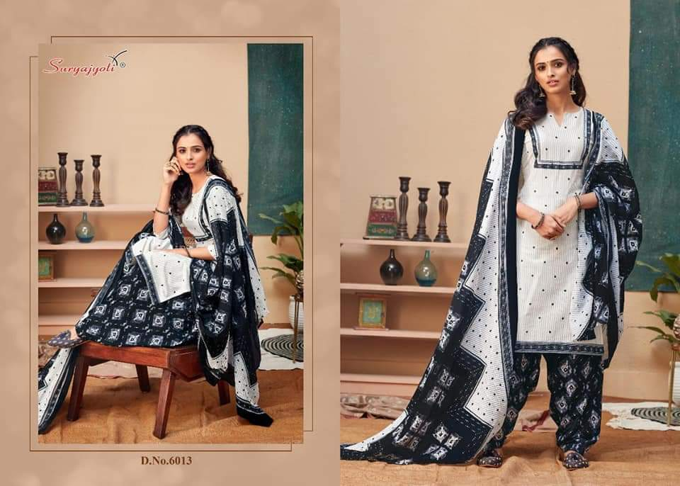 Suryajyoti Sui Dhaga Vol 6 Designer Cotton Suits Daily Wear Collection In Best Wholesale Rate