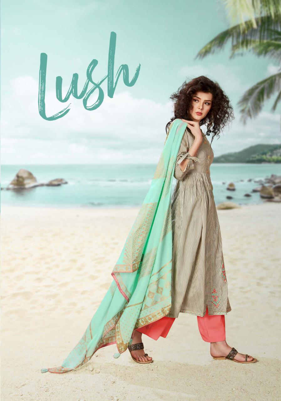 Sargam Prints Lush Designer Work With Cambric Printed Suits In Best Wholesale Rate