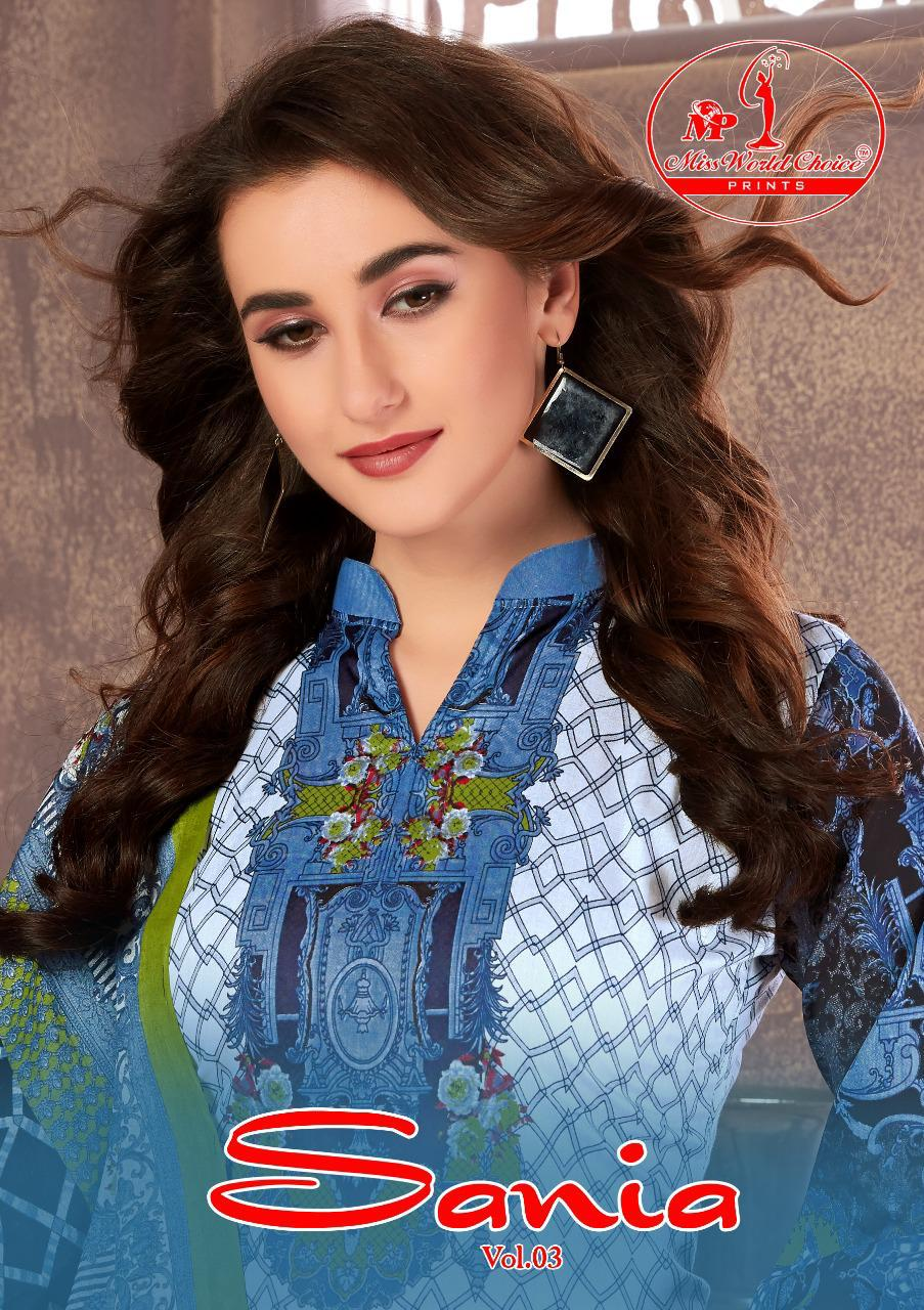 Sania Vol 3 Designer Cotton Daily Wear Suits In Best Wholesale Rate