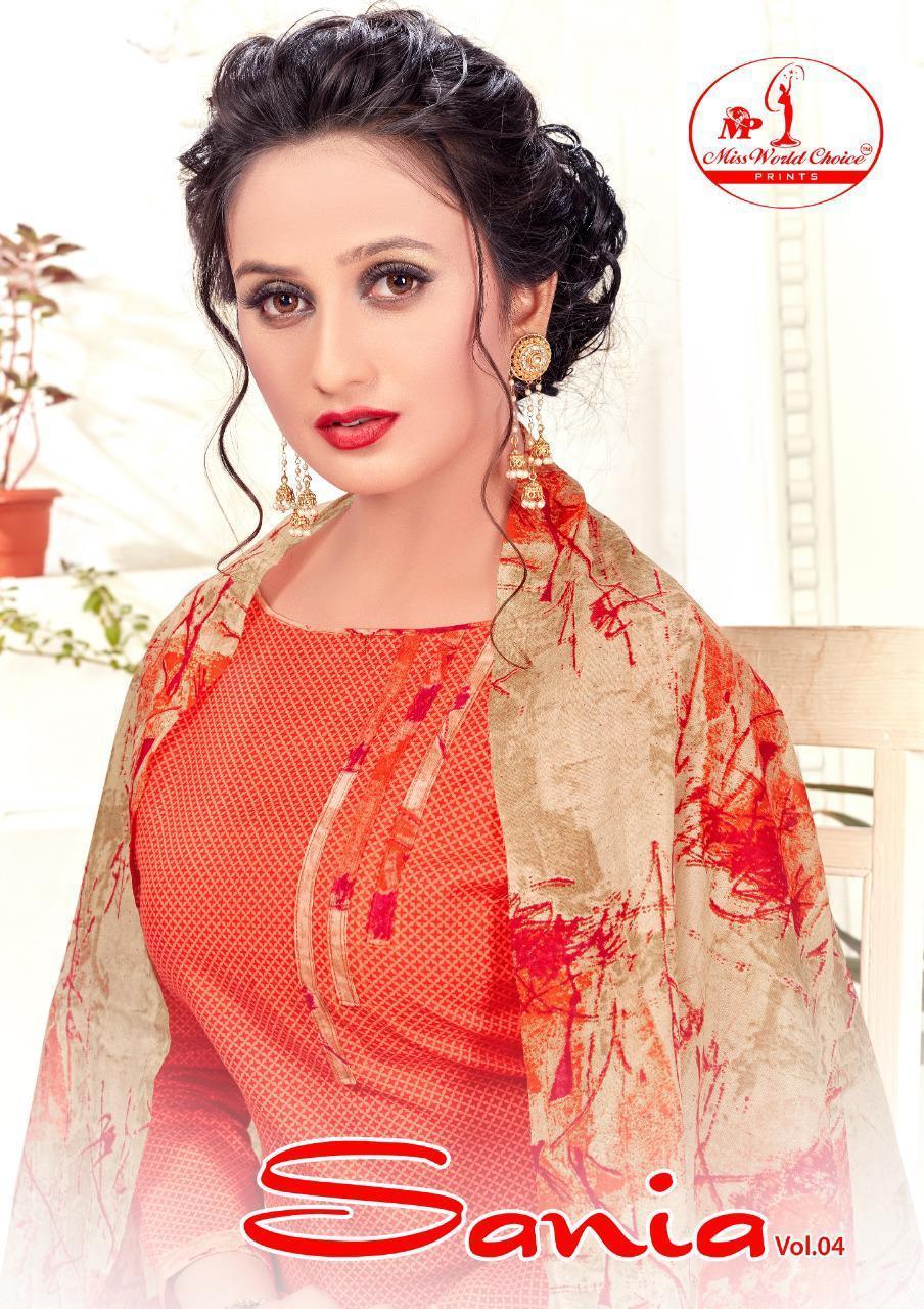 Sania Vol 4 Designer Premium Cotton Daily Wear Suits In Best Wholesale Rate