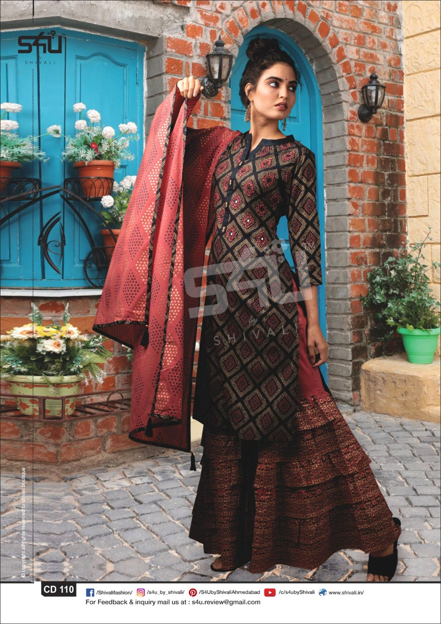 S4u Casual Dairies Designer Work Partywear Collection In Best Wholesale Rate