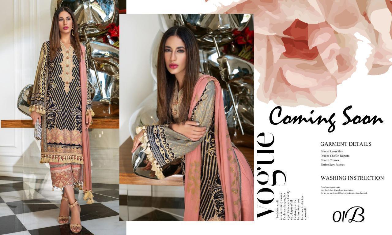 Sana Safinaz Muzlin Digital Premium Lawn Collection 2020 Original Pakistani Lawn Suits In Best Wholesale Rate