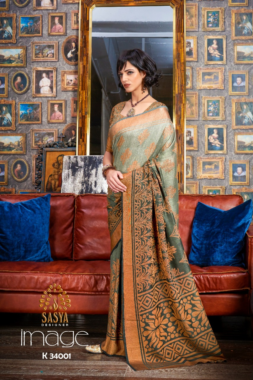 Sasya Image Pure Silk Weaving Sarees In Best Wholesale Rate