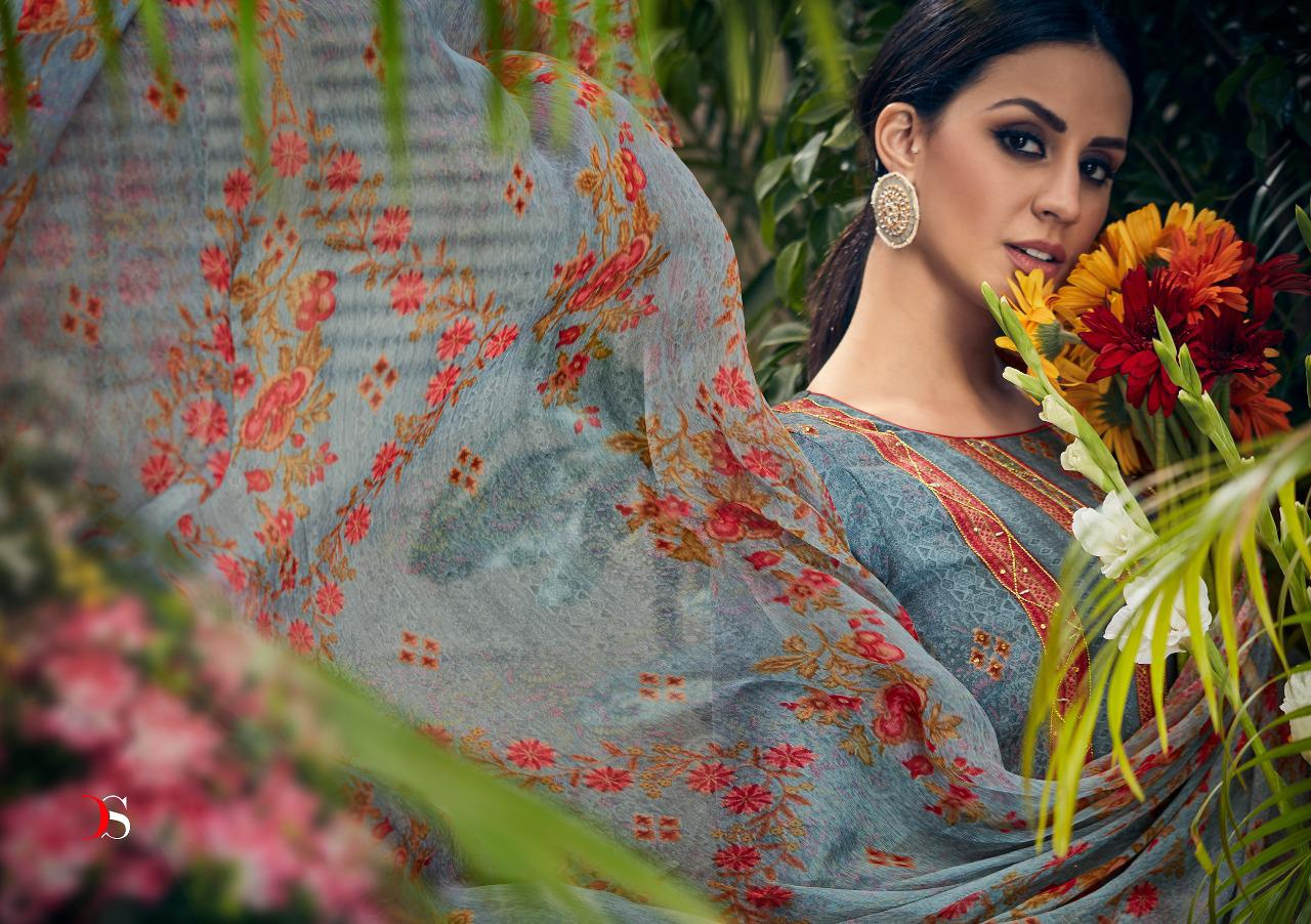 Deepsy Suits Meenakari Designer Pashmina Printed With Exclusive Hand Work And Khat Work Suits In Best Wholesale Rate