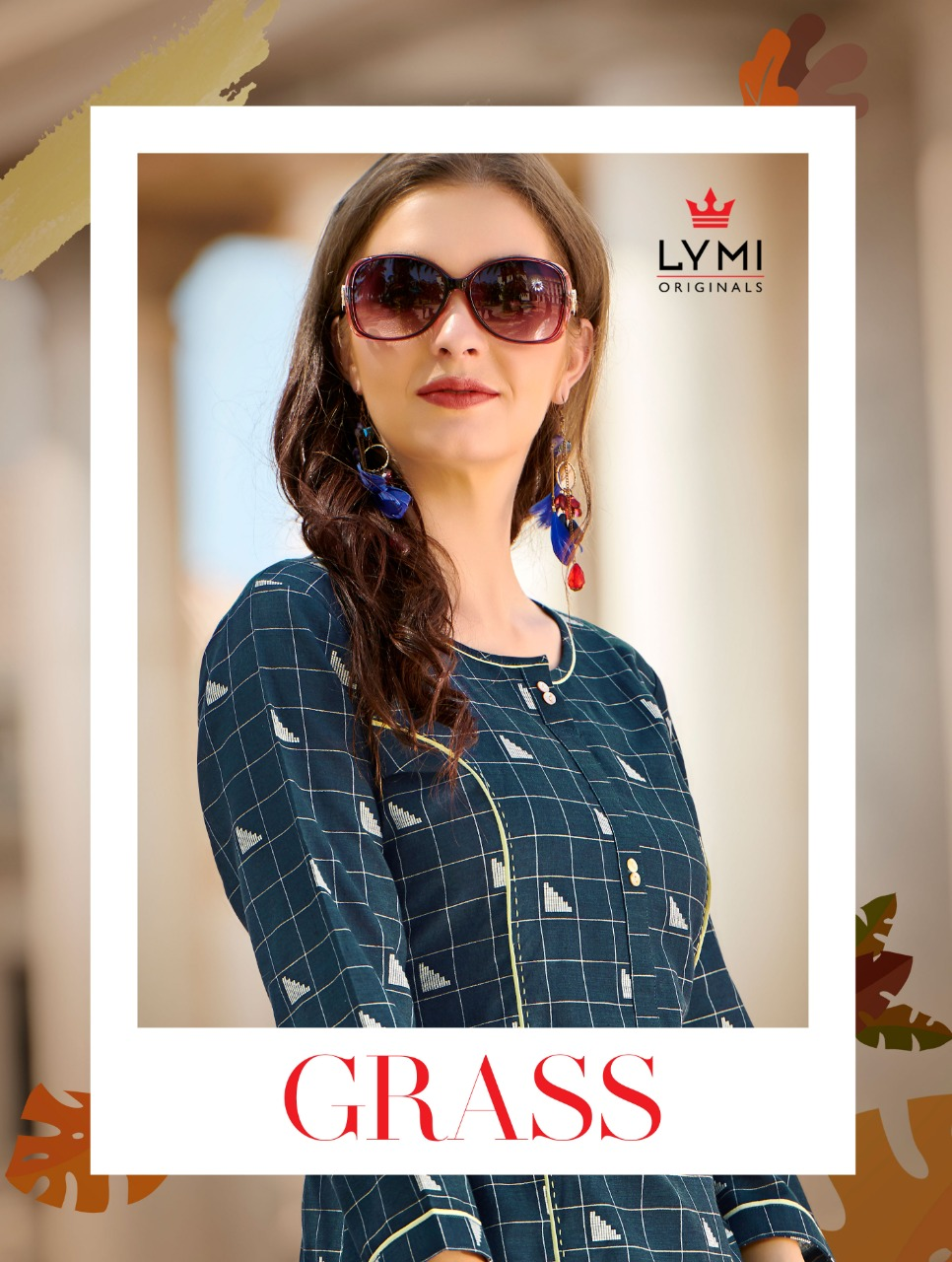 Kessi Lymi Grass Cotton Weaving Designer Daily Wear Kurtis Wholesale