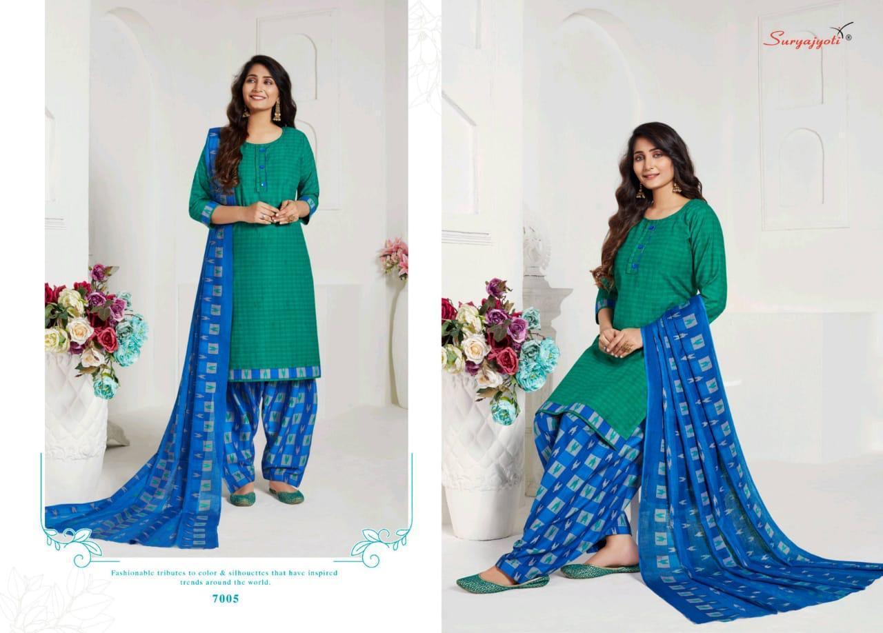 Suryajoti Sui Dhaga Vol 7 Designer Cotton Printed Daily Wear Suits Wholesale