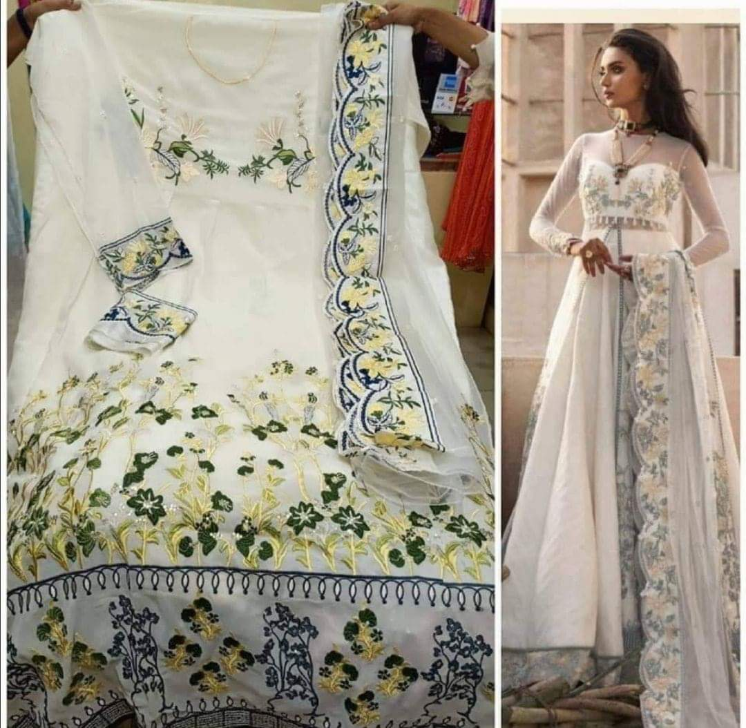 Deepsy Elan Designer Heavy Embroidery Work Partywear Suits In Single