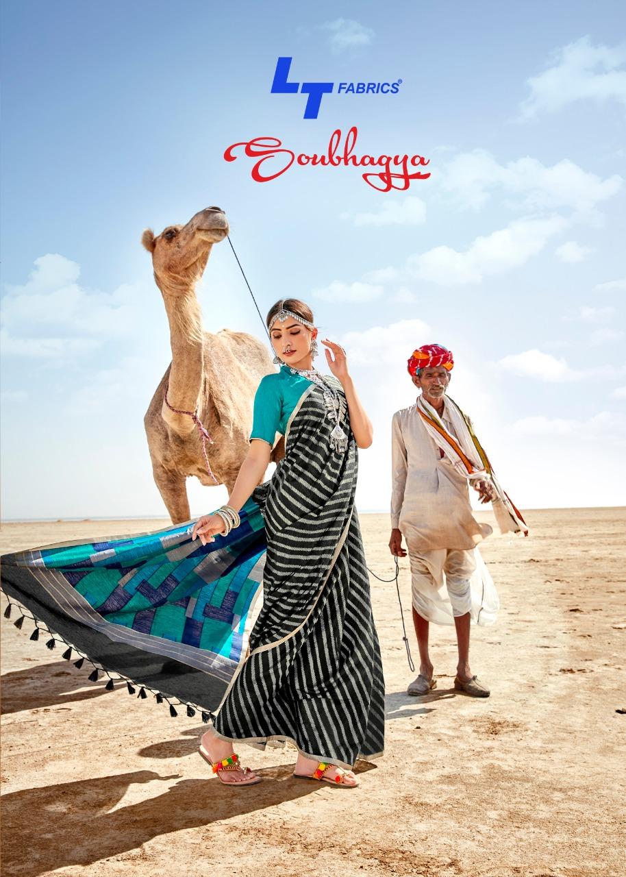 Lt Fashion Saubhagya Designer Silk Cotton Rich Pallu Sarees Wholesale