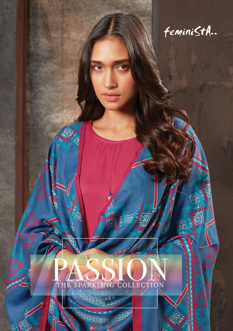 Arena Fashion Feminista Passion Designer Pashmina Kurti With Stole Wholesale
