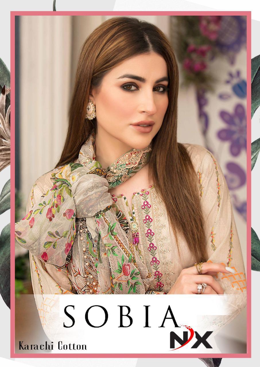 Sobia Nx Digital Printed Low Range Cotton Suits Wholesale