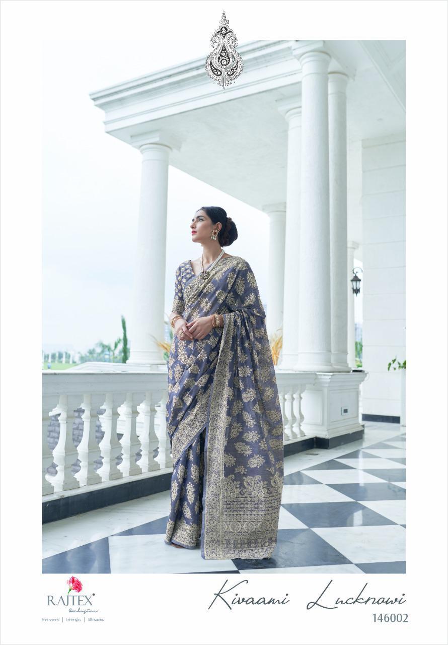 Rajtex Kivaami Lucknowi Designer Chikankari Sarees Wholesale