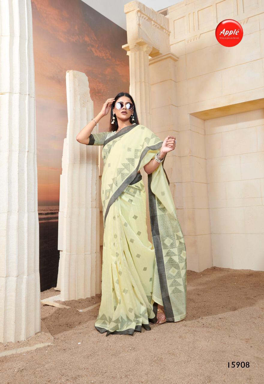 Apple Saree Womaniya Vol 15 Designer Bhagalpuri Silk Sarees Wholesale