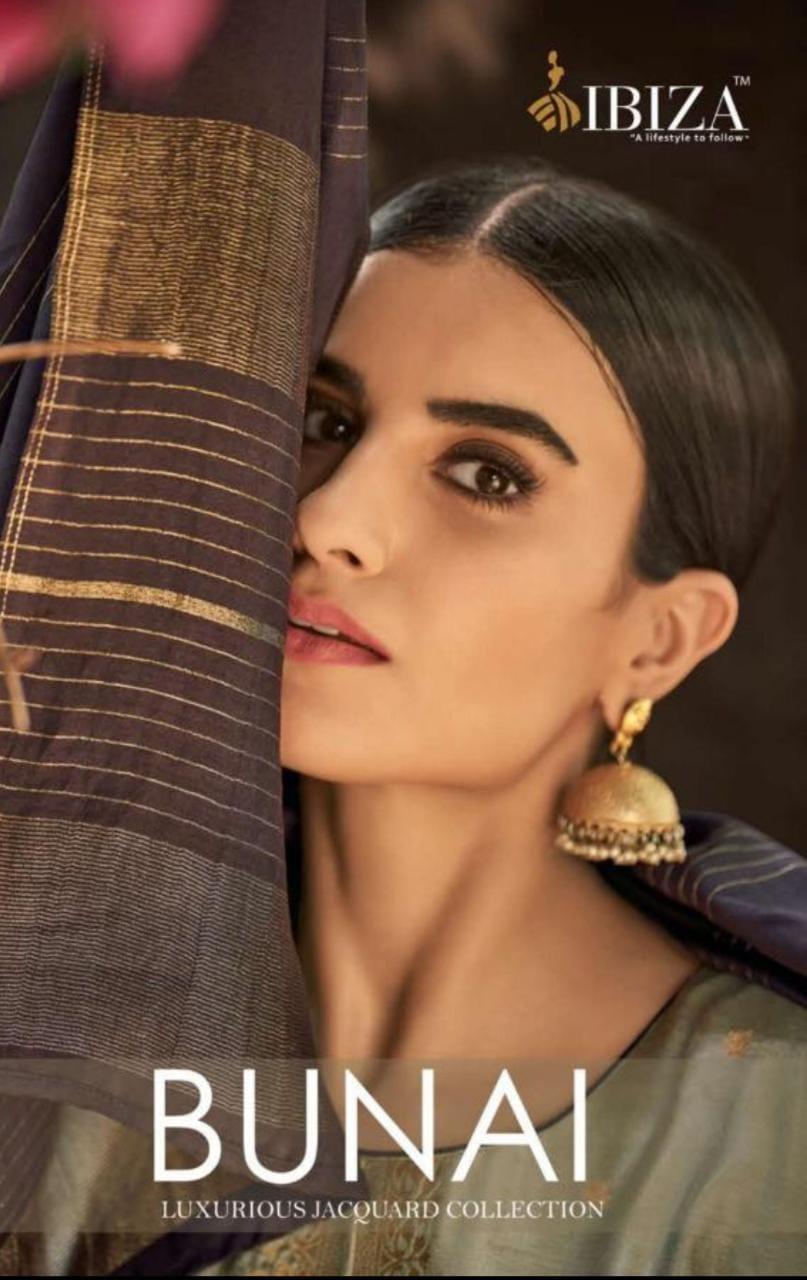 Ibiza Bunai Designer Pure Silk Minakari With Bemberg Aari Silk Dupatta Suits Wholesale