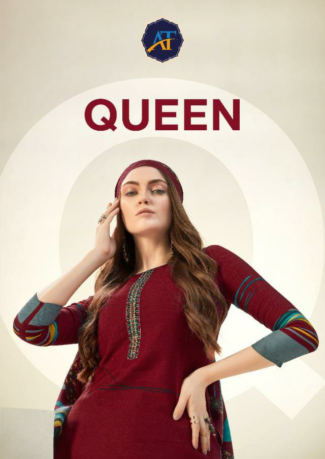 Ankit Textile Queen Designer Pure Printed Pashmina Work Suits Wholesale