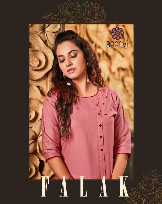 R Studio Baanvi Falak Vol 1 Designer Cotton Metty With Work Kurtis Wholesale