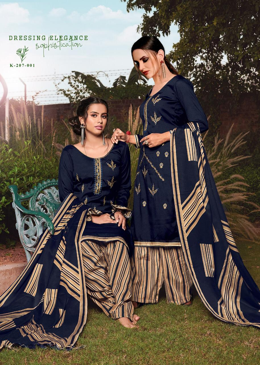 Kay Vee Noor E Patiyala Designer Pure Pashmina Nagetive Print Suits Wholesale